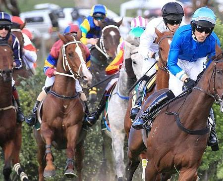 Jumps racing at Oakbank