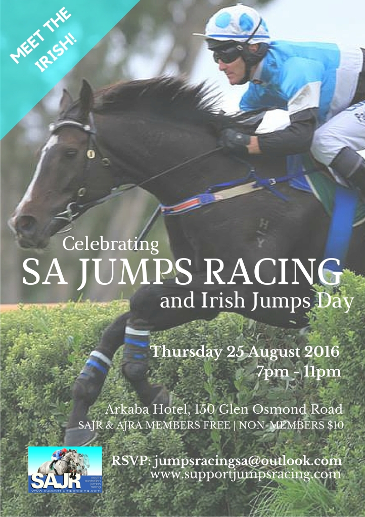 SAJR | Celebrating SA Jumps Racing Poster