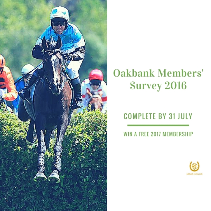 Oakbank Racing Club | 2016 Members' Survey SM