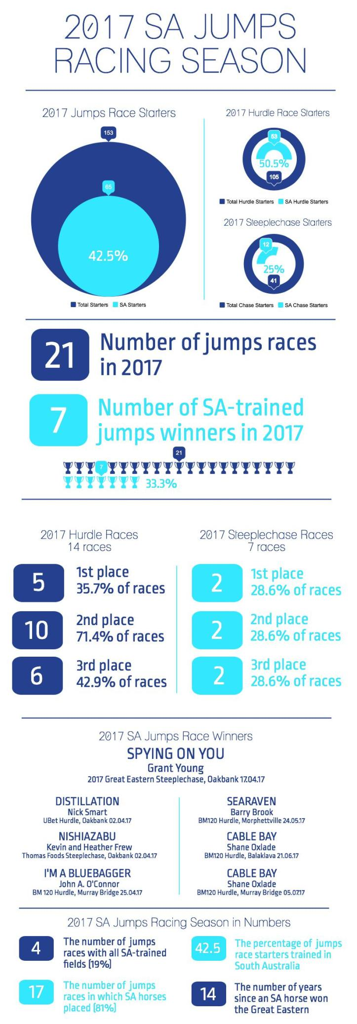 Review of the 2017 South Australian Jumps Racing Season