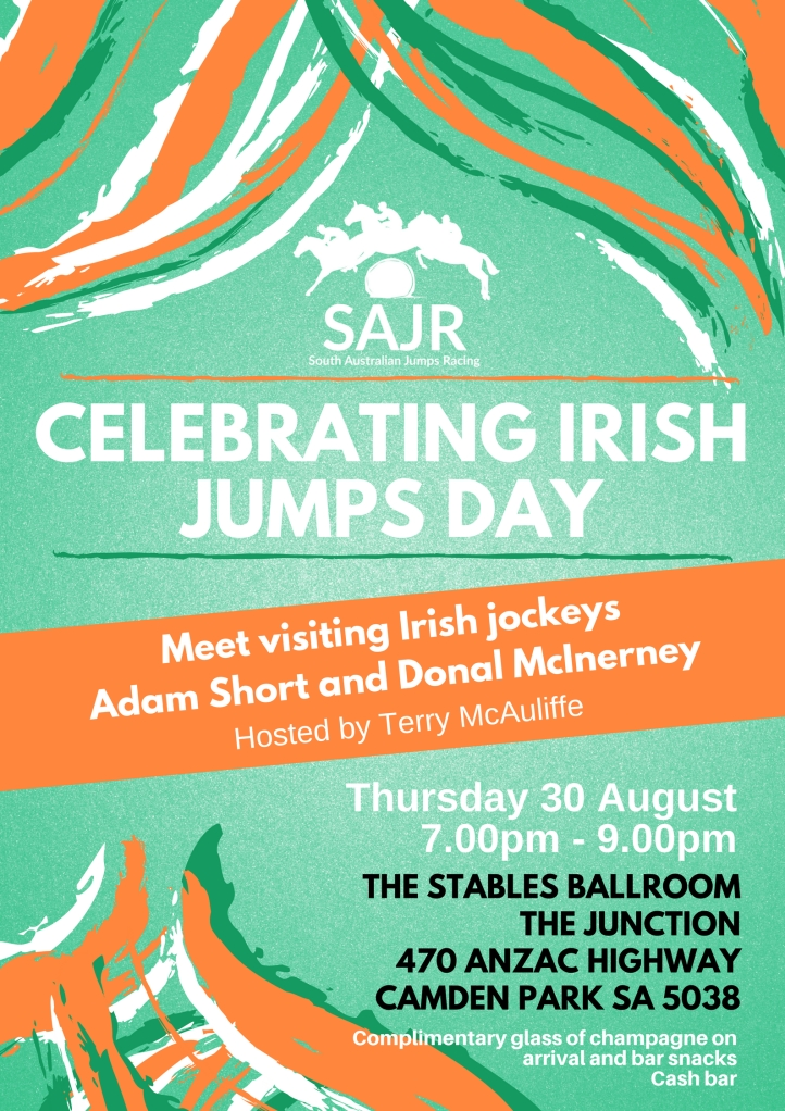 SAJR | Irish Race Day 2018 POSTER